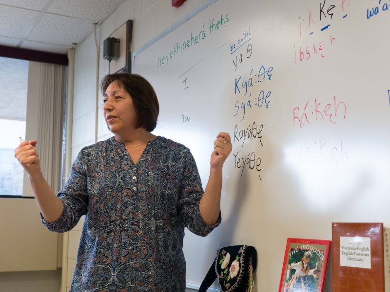 New Niagara University Courses Embrace Tuscarora Culture Language