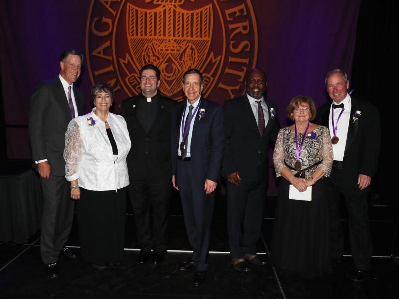 Niagara University Honors Five Raises Scholarship Dollars at Presidents Dinner