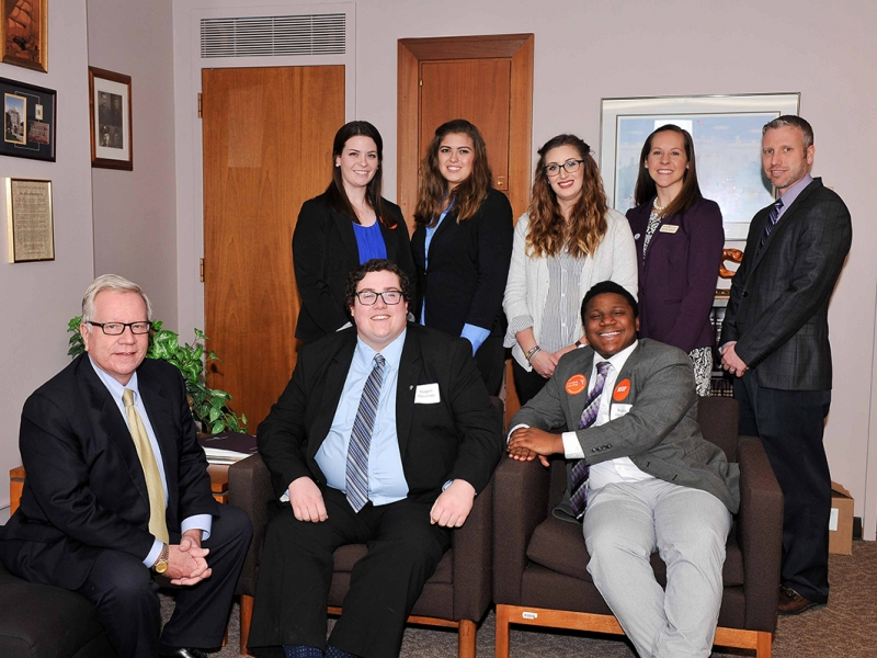 Niagara University Students Take Financial Aid Message to Albany